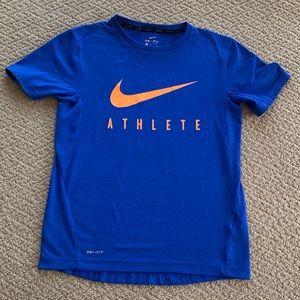 Nike Royal Blue Dri-Fit T-Shirt